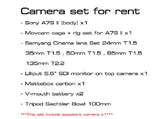 ให้ เช่ากล้อง เช่าเลนส์ เช่าอุปกรณ์ถ่ายทำ ราคาถูก เช่ากล้อง DSLR เช่ากล้องMirrorless บริการออกกองถ่ายทำ ทีมงานกล้อง ช่างภาพ มืออาชีพ โดยทีมงานโปรดักชั่น เฮ้า ในกรุงเทพ ประเทศไทย Production in house จัดทำวีดีโอโฆษณา รายการทีวี TVC จัดทำวีดีโอพรีเซ้นเทชั่น Vdo presentation ราคาถูก