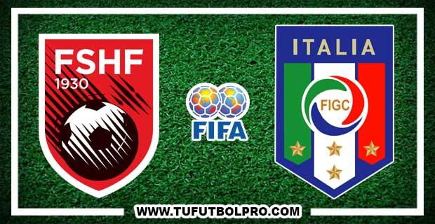 Ver Albania vs Italia EN VIVO Por Internet Hoy 9 de Octubre 2017