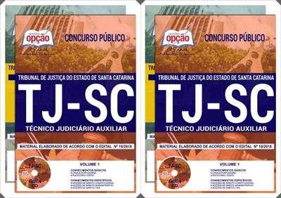 Apostila Técnico judiciário Auxiliar TJ Catarina 2018