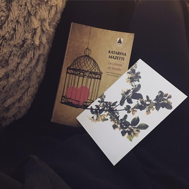 Chronique littéraire Le caveau de famille par Mally's Books