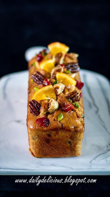 Marmalade Fruit Cake Recipe