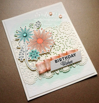 Heart's Delight Cards, A Little Lace, Stitched Lace Dies, Birthday Card, Sneak Peek, 2019-2020 Annual Catalog, Stampin' Up!