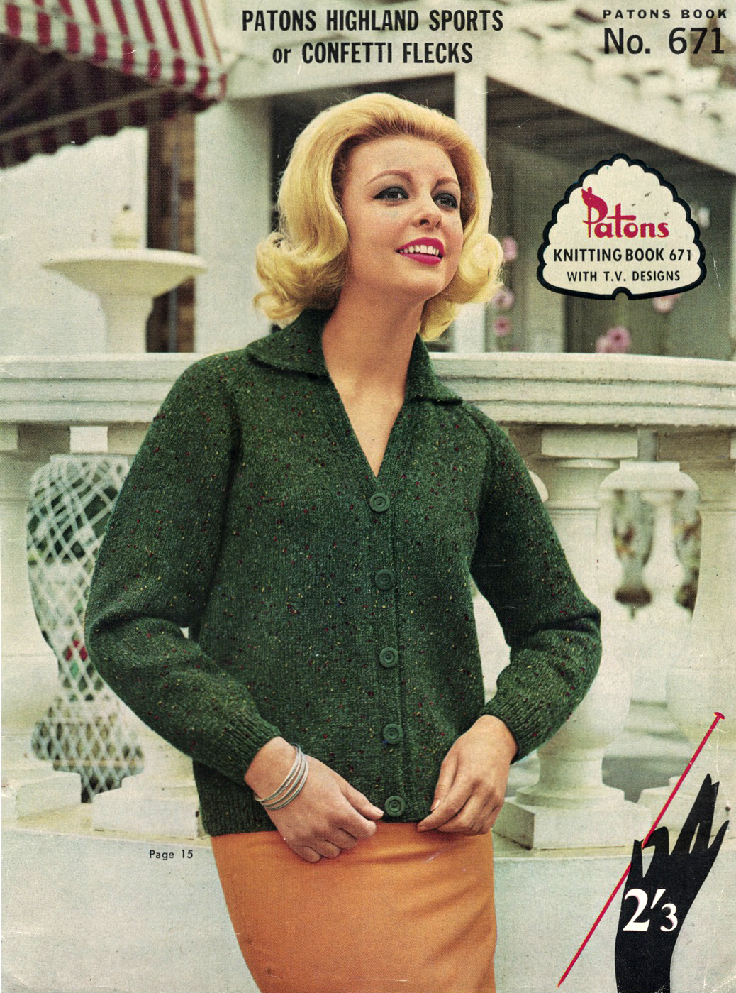 d822c348e3b131 The Vintage Pattern Files  Free 1960s Knitting Pattern - Patons Book No.671  Family