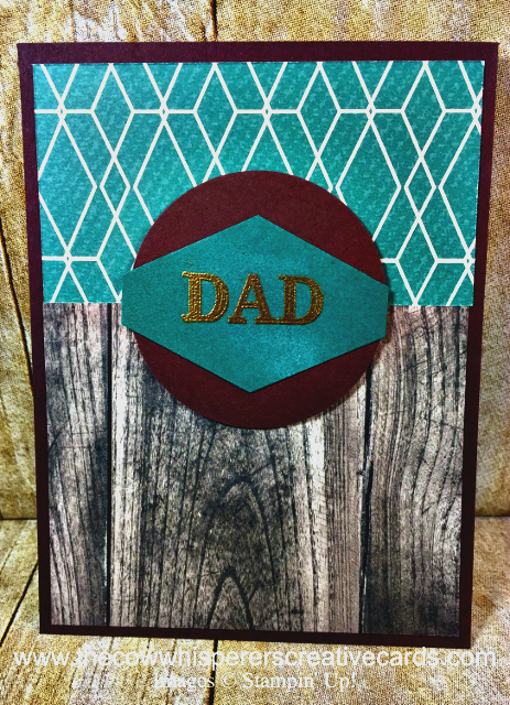 Card, True Gentleman, Dad, Father's Day