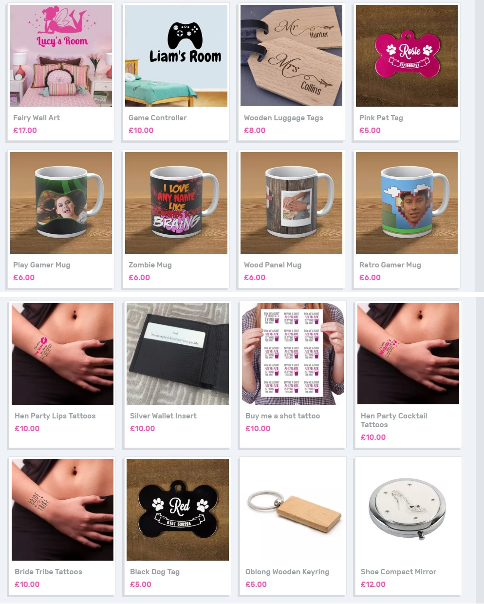 Personalised Gifts, Design your own, Fathers' Day Gift