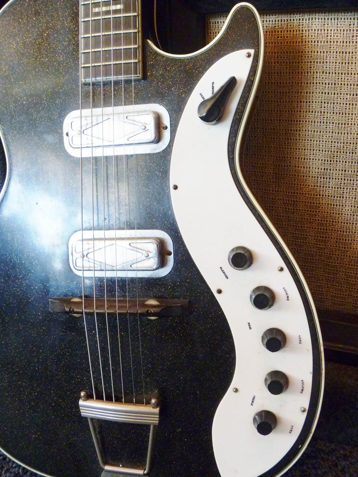 wood wire guitar shop blog silvertone guitar matching amp. Black Bedroom Furniture Sets. Home Design Ideas