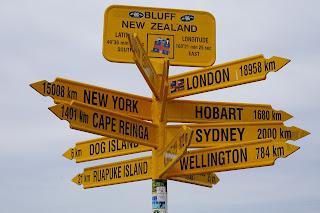 Bluff Nueva Zelanda