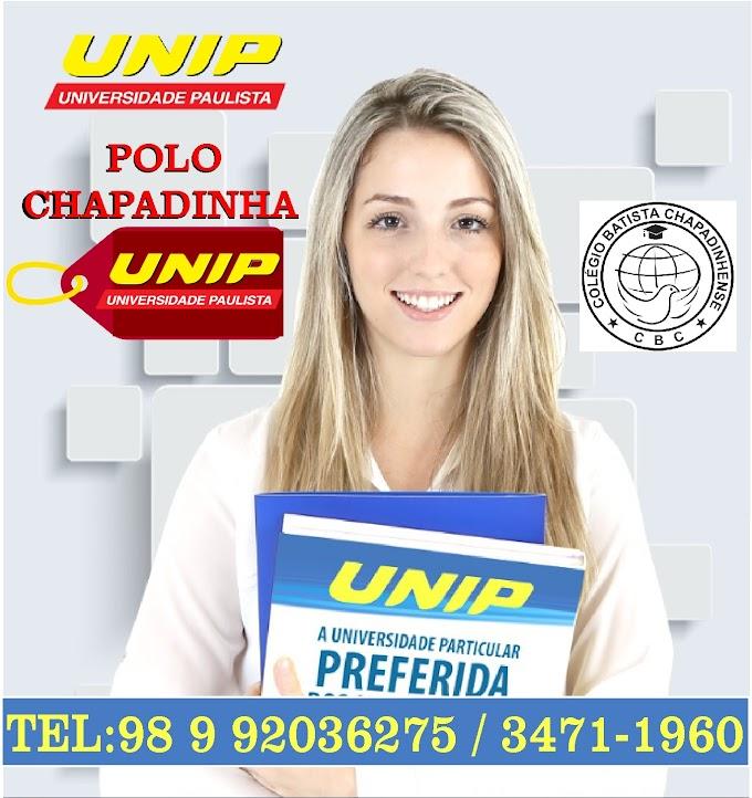 Aproveite o Processo seletivo agendado 2018.3 da UNIP, agora com o Prouni