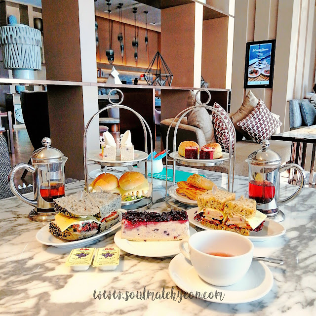 Afternoon Tea Treats; The Lounge, Kota Kinabalu Marriott Hotel