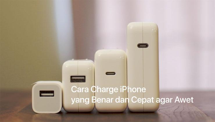Cara Charge iPhone yang Benar dan Cepat agar Awet serta Mengenal Lebih Jauh  Charger USB- 9d58474d1f