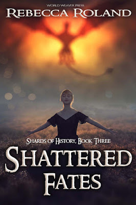 Purrfectly Bookish Cover Reveal: Shattered Fates by Rebecca Roland