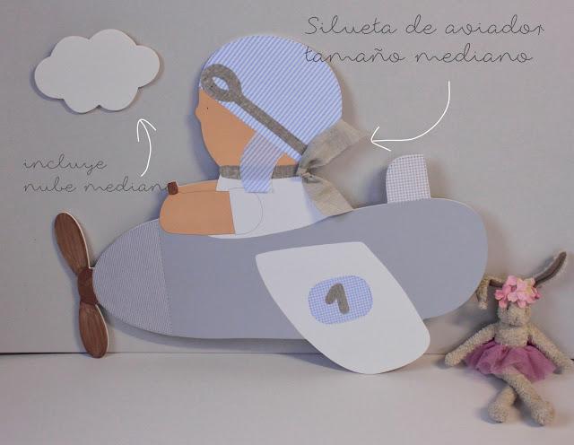 Siluetas infantiles personalizadas decoración infantil