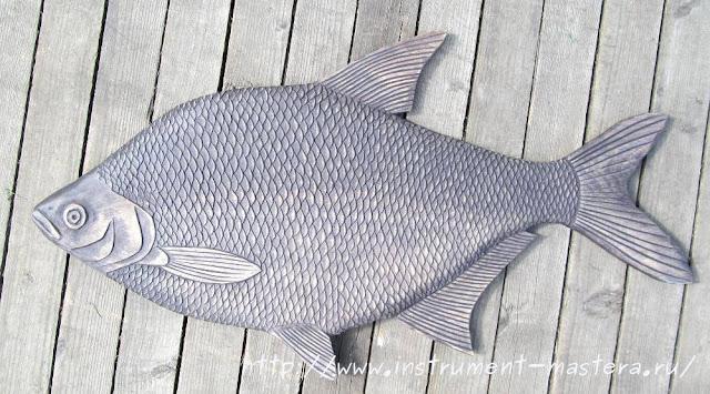 панно на стену в подарок рыбаку