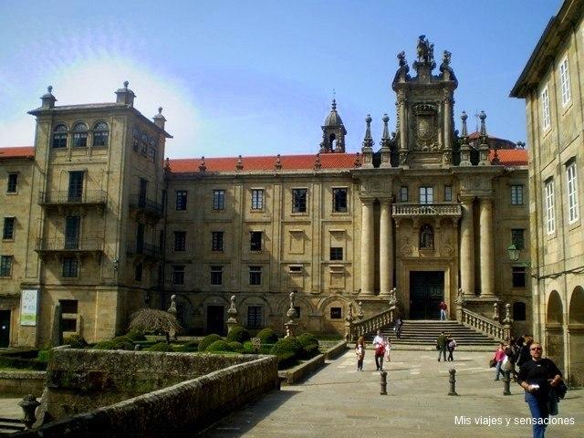 monasterio de San Martín Pinario, Santiago de compotela, Galicia