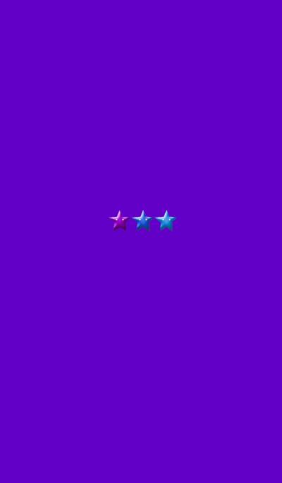 Purple Simple 3 Star