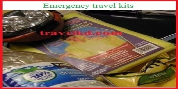 Emergency travel kits for the tourists