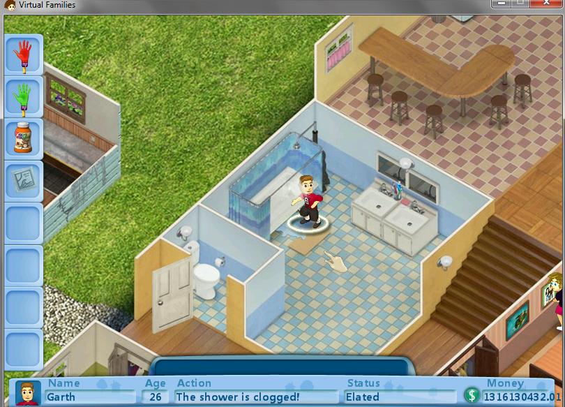 Screenshots From My Virtual Families