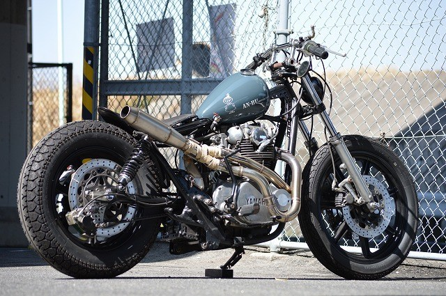 Yamaha XS650 By An-Bu Hell Kustom