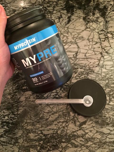 myprotein mypre pre workout