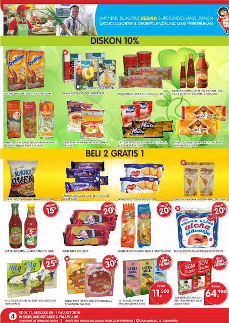 Katalog SUPER INDO Promo SUPERINDO Terbaru Periode 08 - 14 Maret 2018