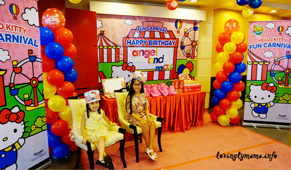 jollibee kids party hello kitty fun carnival theme