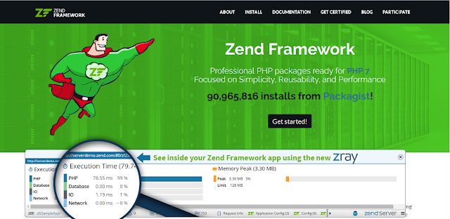 php,framework,zend framework,php5,php7