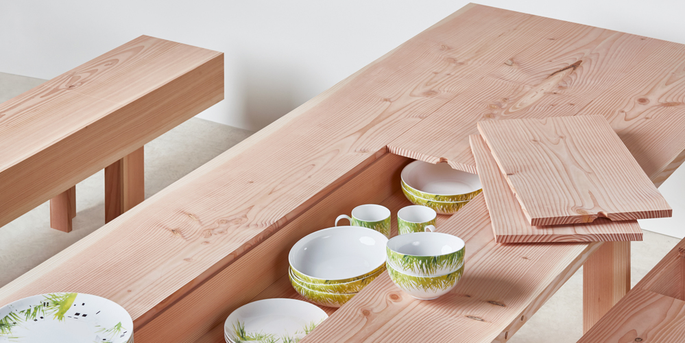 Benchmark Planks Dining Table