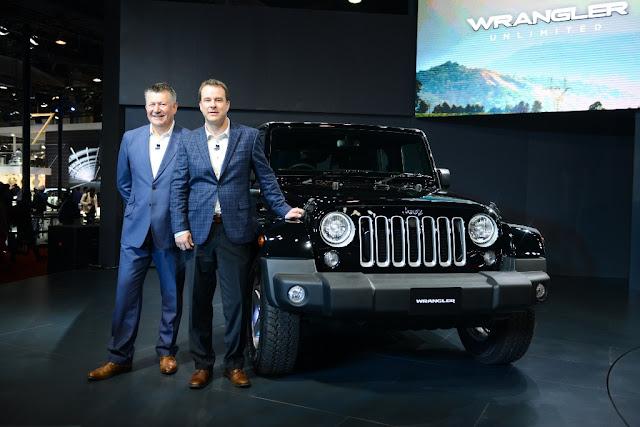 Jeep Wrangler Unlimited Auto Expo 2016 India