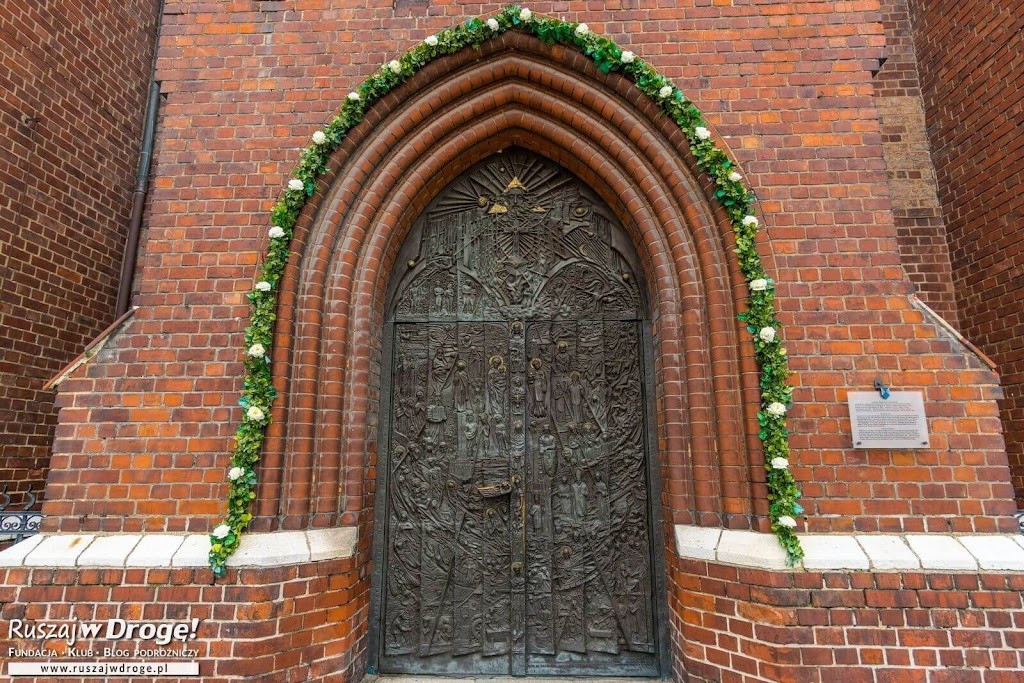 Katedra w Opolu - piękne drzwi