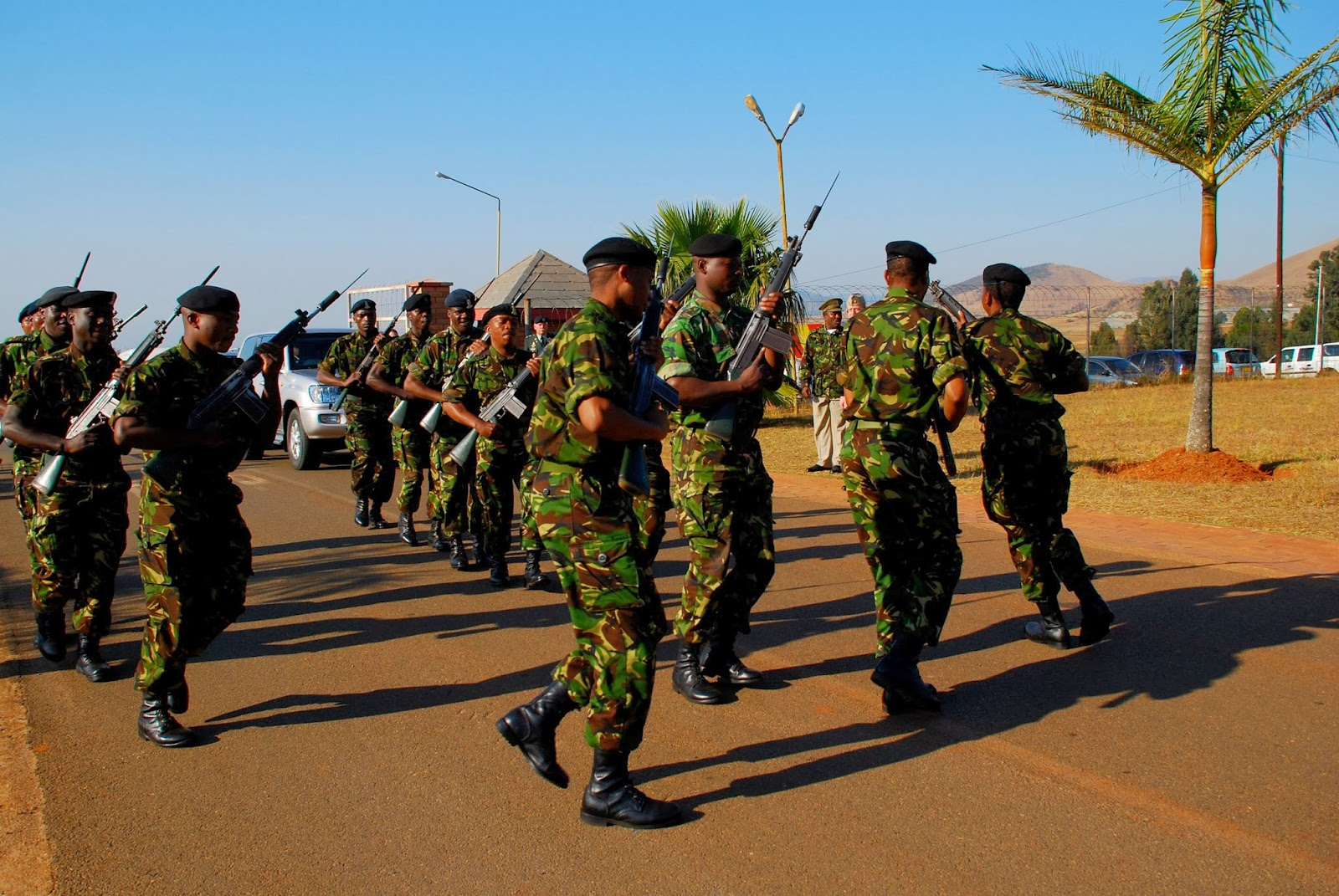 World Military and Police Forces: Eswatini