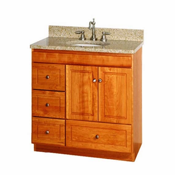 30 Inch Bathroom Vanity with Drawers - AyanaHouse