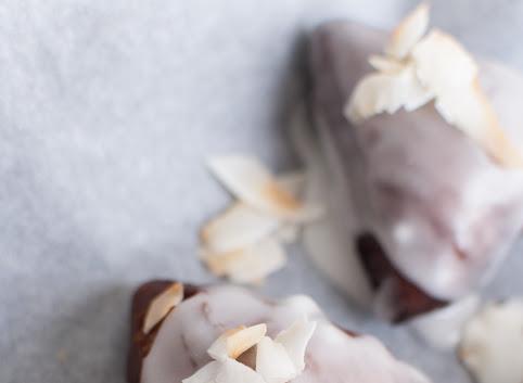 Afrykańskie pączki kokosowe