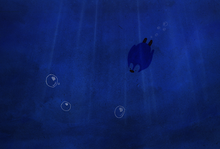 penguin, animation, underwater, still, orpheus | jen haugan