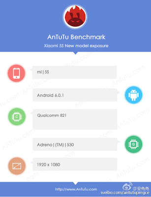 Xiaomi Mi5s AnTuTu