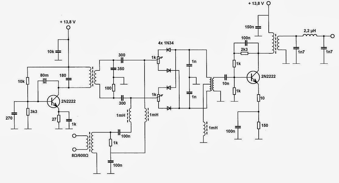 SolderSmoke Daily News: A Very Simple SSB Transmitter