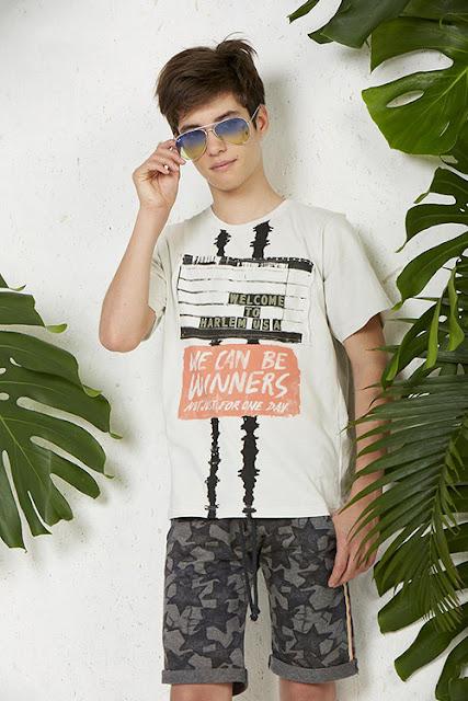 Moda en ropa para niños verano 2018