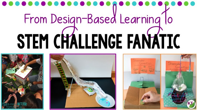 Blog post describes how this teacher went from a master's in Design-Based Learning to STEM Challenge Fanatic