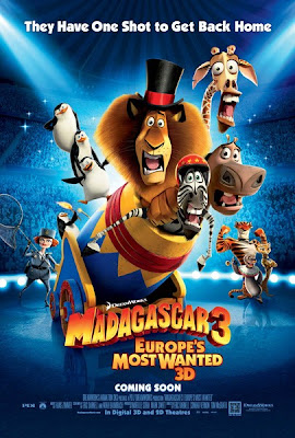 MADAGASKAR 3 : EUROPE'S MOST WANTED 3D
