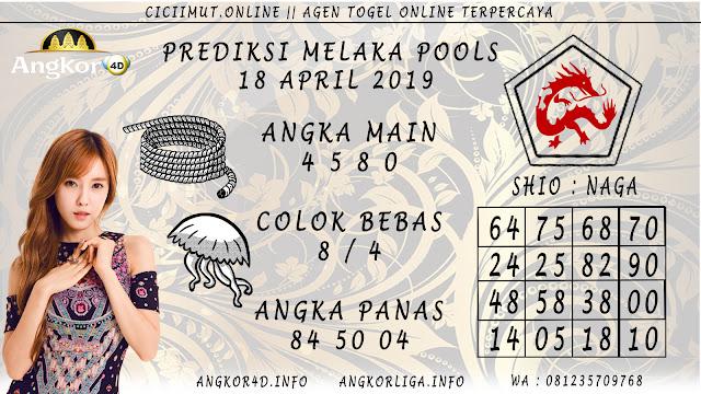 Prediksi Angka Jitu MELAKA POOLS 18 APRIL 2019