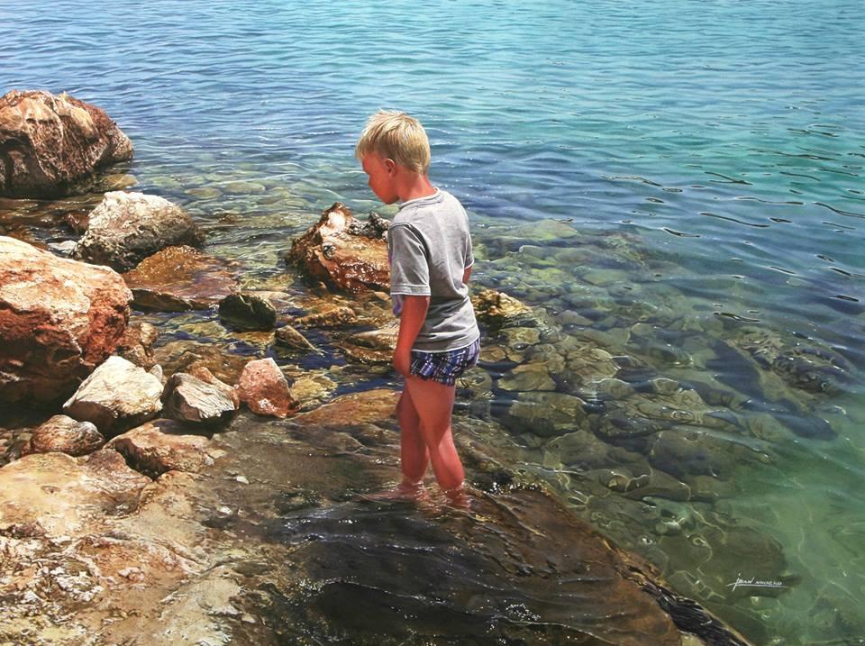 06-Iban-Navarro-Watercolour-Paintings-of-the-Seaside-that-look-like-Photographs-www-designstack-co