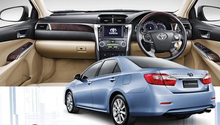 Promo Kredit Toyota Camry Tipe Hybrid 2,5L A/T