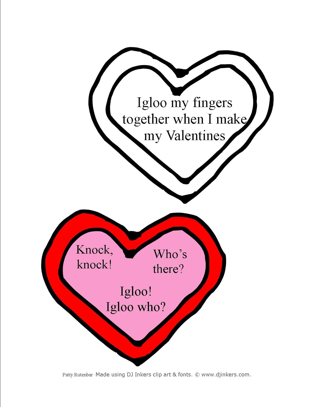 2nd In Line Nonsense Word Practice And Valentine Jokes