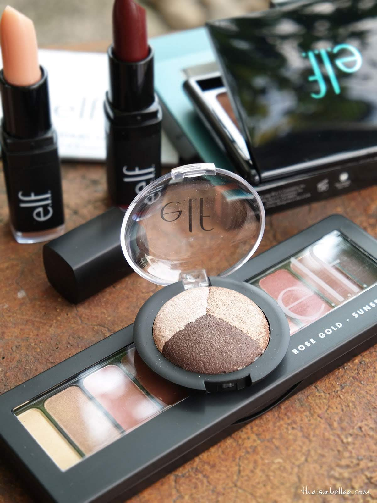 elf baked trio eyeshadow