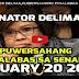Breaking News: SENATOR DELIMA, PUWERSAHANG PINALABAS NG SENADO