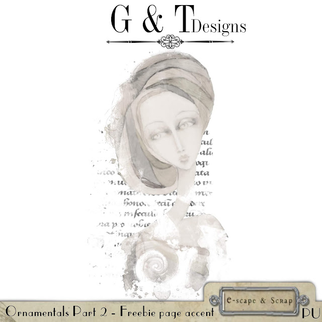 G&T Designs - Ornamentals Part 2 & Freebie