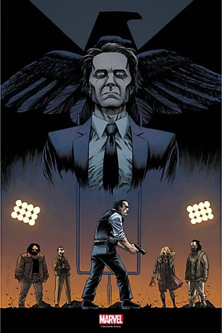"Agents of SHIELD The Art of Evolution Print #3 - ""One of Us"" by Declan Shalvey & Jordie Bellaire"