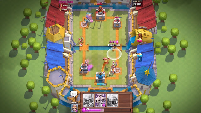 Download Clash Royale v1.6.0 hack and Mod apk