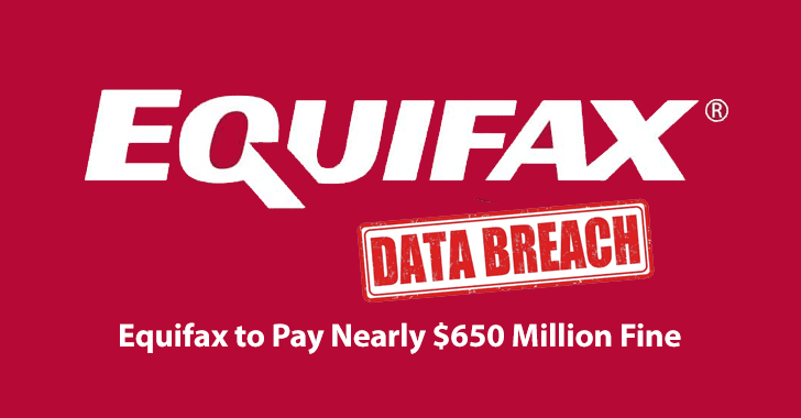 Equifax Fine  - Equifax 2BFine - Equifax to Pay Nearly $650 Million as Fine Over 2017 Data Breach