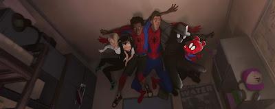 Spider-Man: Into the Spider-Verse 2018 movie poster Miles Morales Shameik Moore Jake Johnson