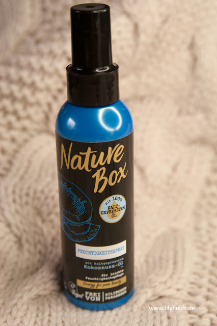 Nature Box - Feuchtigkeitsspray mit kaltgepressten Kokosnuss-Öl